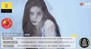 Angelababy Makes it To TC Candler's Top 10 Most Beautiful Faces in Asia 2020!